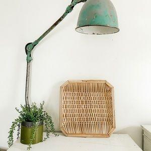 Woven hex basket